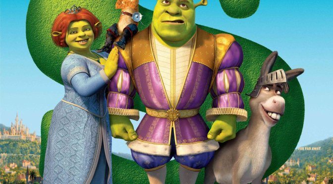 "Poster for the movie ""Shrek the Third"""