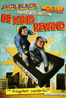 "Poster for the movie ""Be Kind Rewind"""