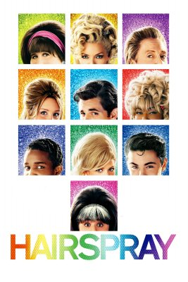 "Poster for the movie ""Hairspray"""