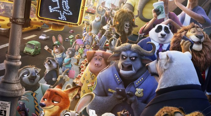 """Poster for the movie """"Zootopia"""""""