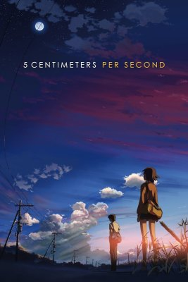 """Poster for the movie """"5 Centimeters Per Second"""""""