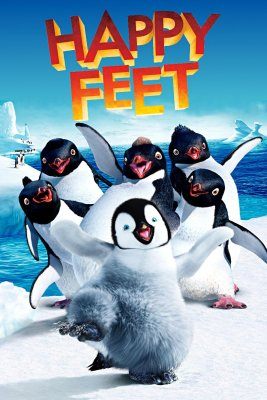 "Poster for the movie ""Happy Feet"""