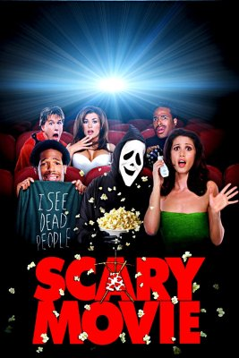"""Poster for the movie """"Scary Movie"""""""
