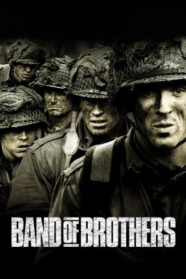 "Poster for the movie ""Band of Brothers"""
