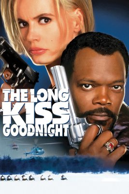 """Poster for the movie """"The Long Kiss Goodnight"""""""
