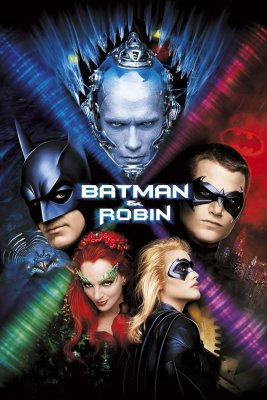 "Poster for the movie ""Batman & Robin"""