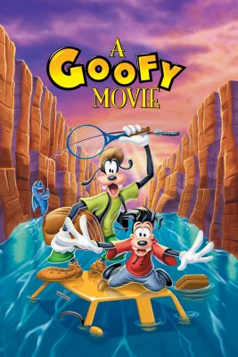"""Poster for the movie """"A Goofy Movie"""""""