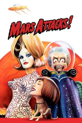 "Poster for the movie ""Mars Attacks!"""
