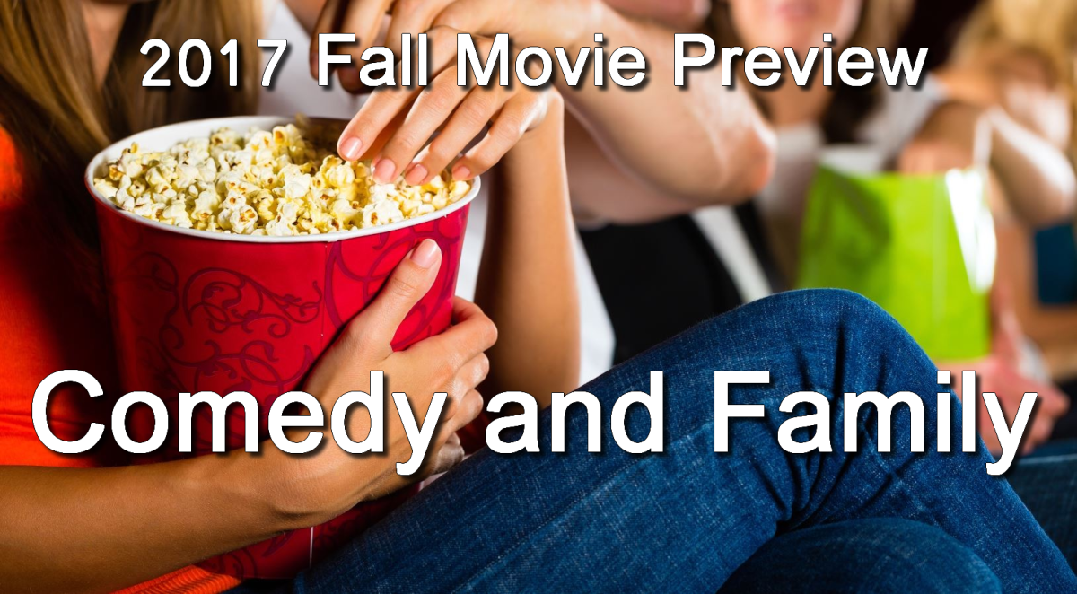 Fall 2017 Movie Preview: Comedy/Family