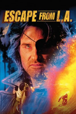 "Poster for the movie ""Escape from L.A."""