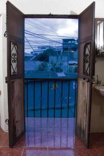 Private balcony!