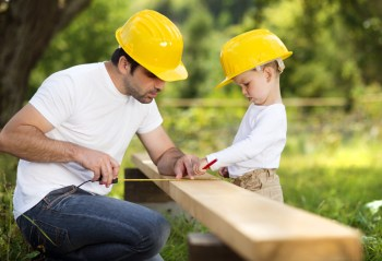DIY projects are a great way to teach your kids skills and work ethic