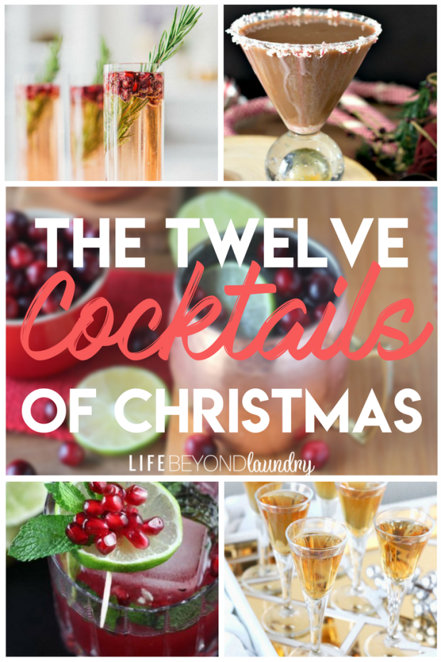Holiday Cocktails- Christmas Drinks to make for a fun party!