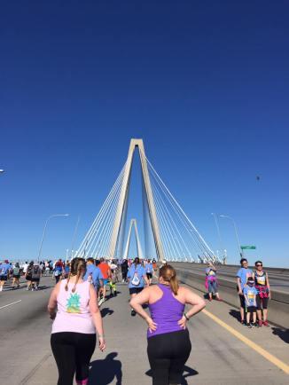Headed up the bridge!