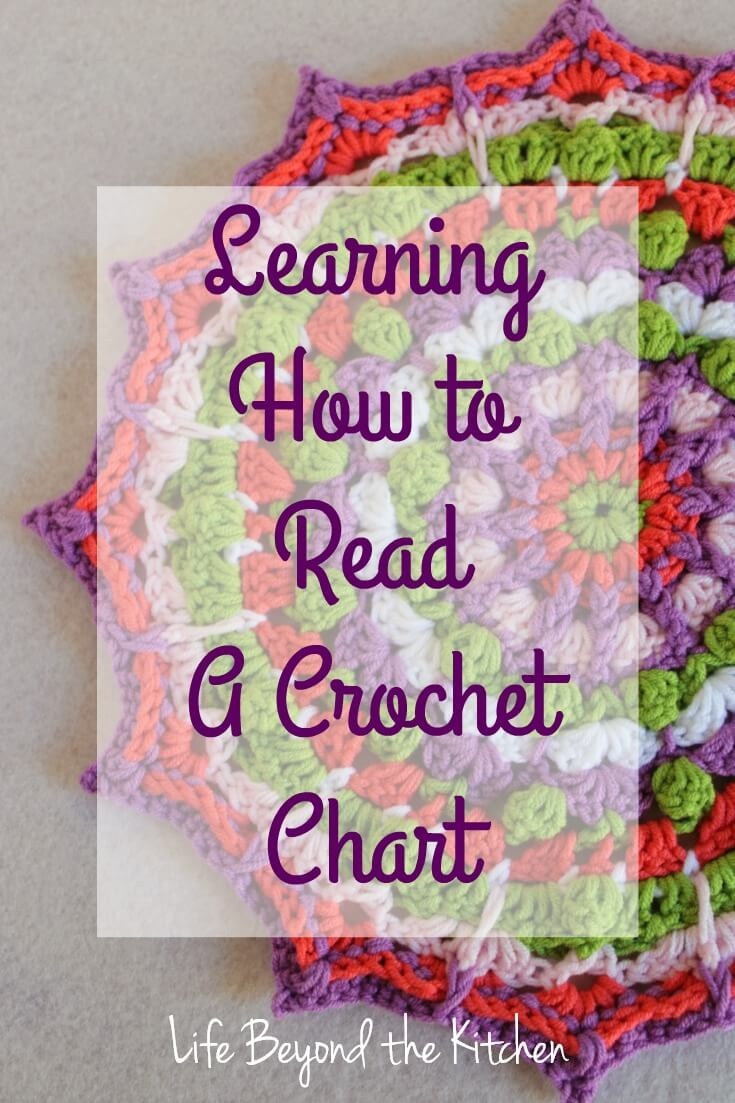 Learning how to read a crochet chart life beyond the kitchen learning how to read a crochet chart creative craft bloggers challenge life beyond the pooptronica