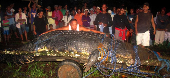World-Record-Crocodile-in-Agusan