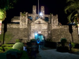fort san pedro at night - philippines
