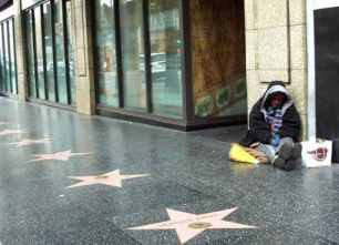 homeless in hollywood