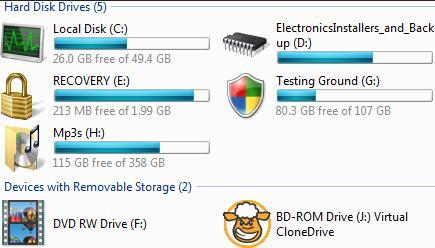 mengubah icon drive