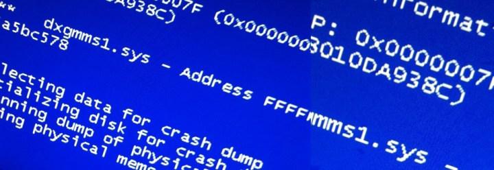 blue screen terjadi pada komputer yang menggunakan RAM Non ECC