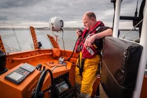 The RNLI Tynemouth Severn Class Lifeboat, RNLB 'Spirit of Northumberland'
