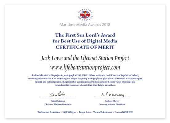 The Lifeboat Station Project by Jack Lowe
