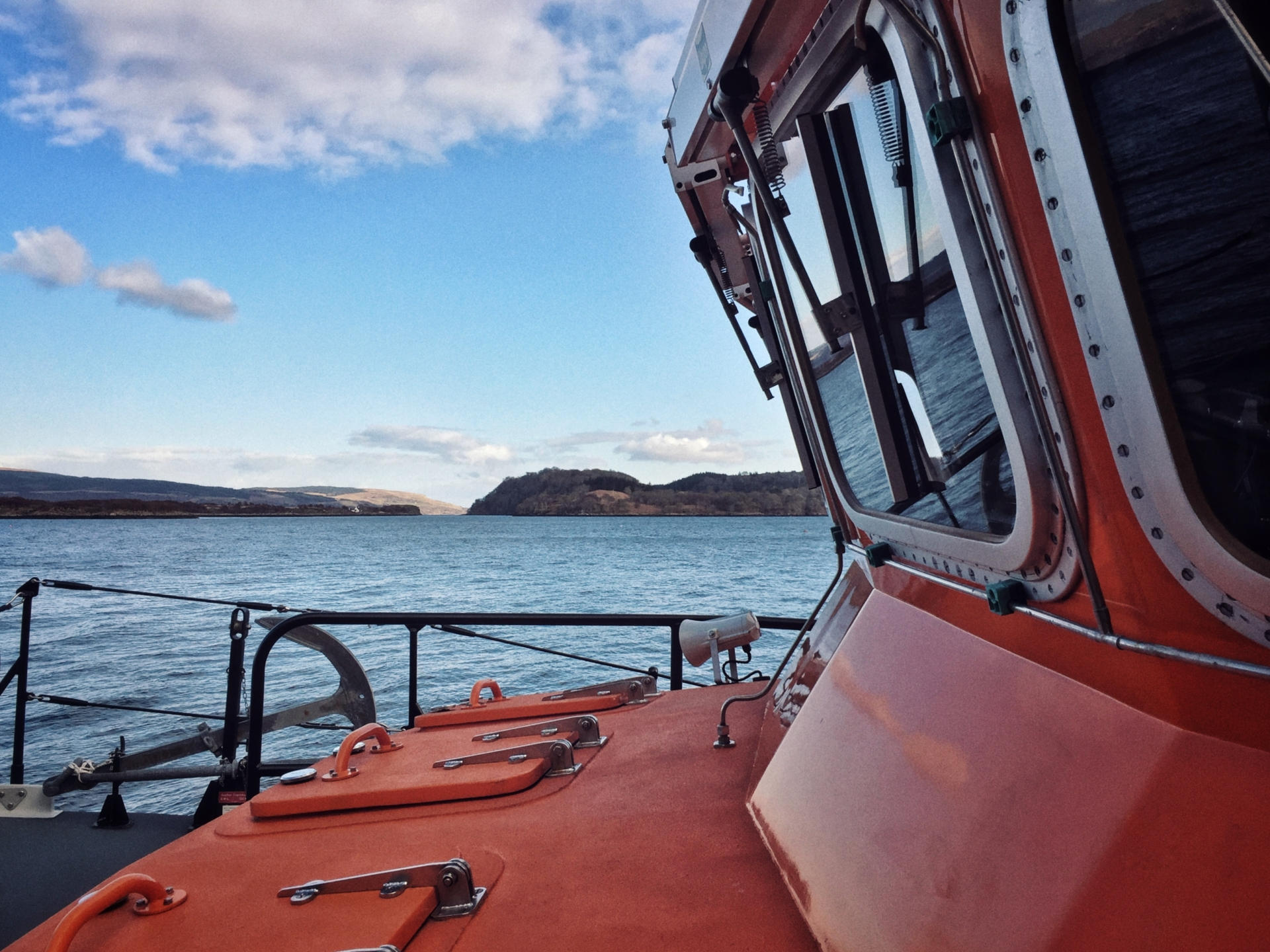 Tobermory RNLI Severn class lifeboat
