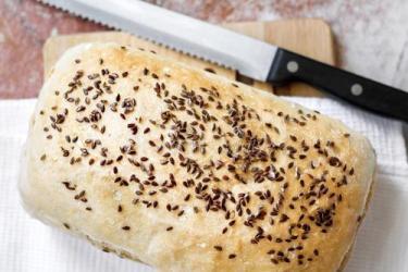 亞麻籽麵包
