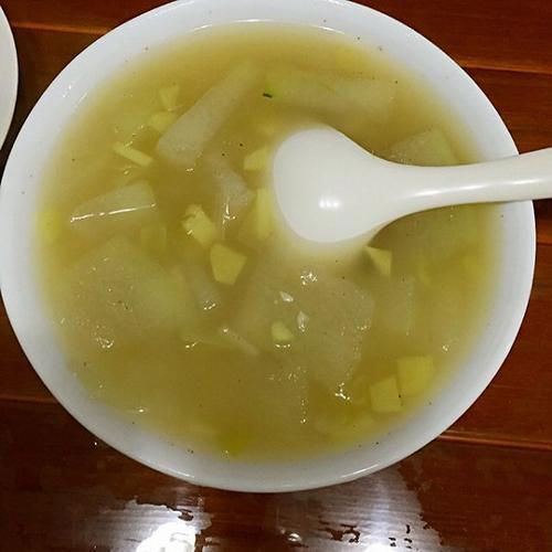 清香冬瓜湯