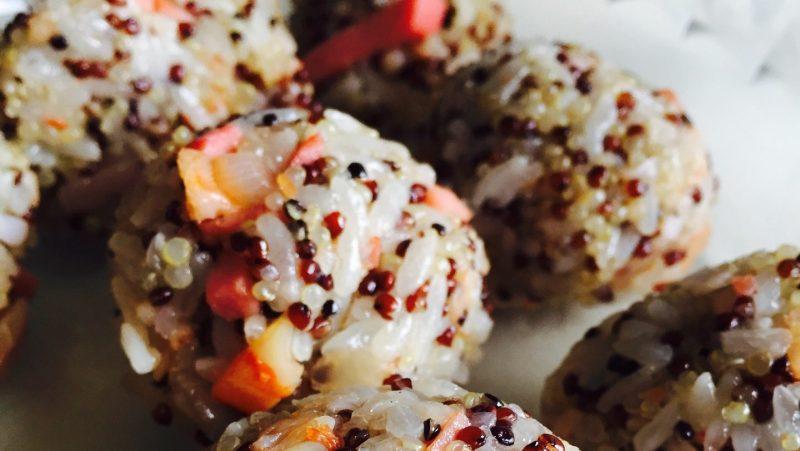 藜麥牛肉飯糰食譜做法,減肥減脂,蛋白質維C都不缺!