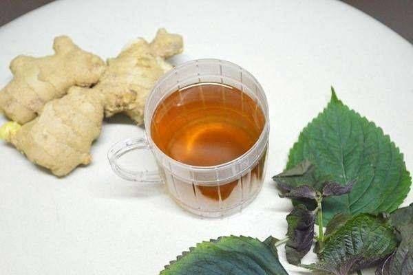 生薑蘇葉茶