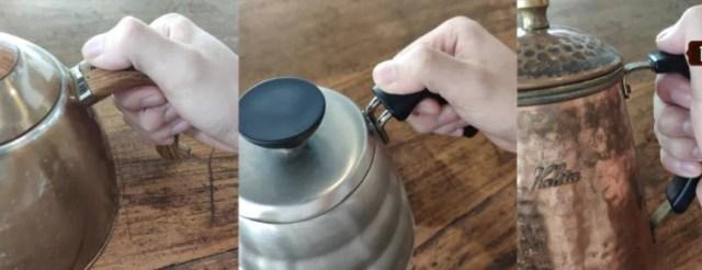 手沖咖啡握壺姿勢