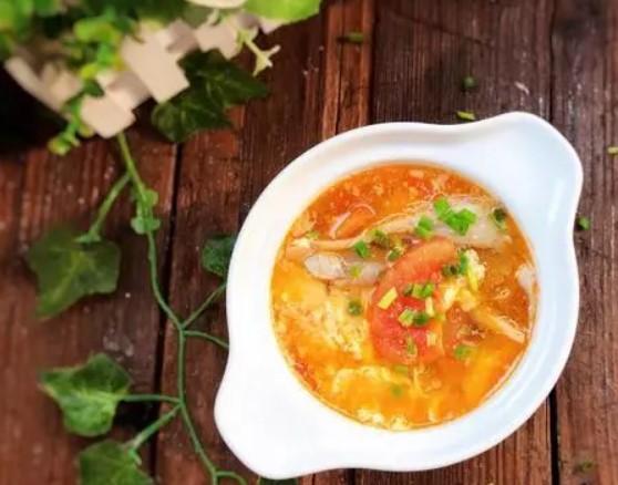 蕃茄蘑菇湯