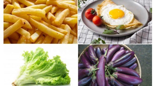 4類超吸油食物