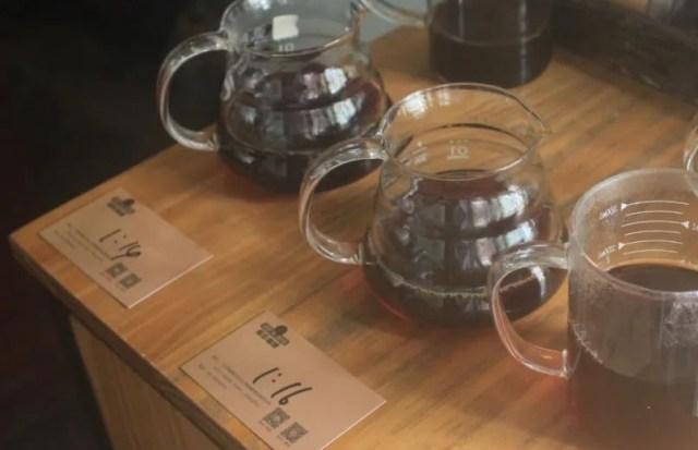 咖啡的水粉比例