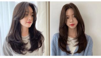 中長髮造型|24款內捲燙髮、C字彎造型