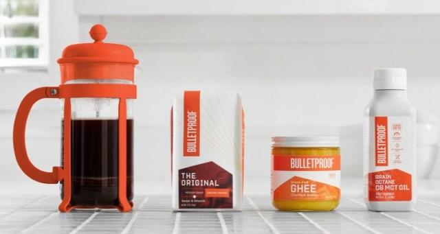 防彈咖啡(Bullet Proof Coffee)