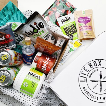 A Lifebox of healthy gifts