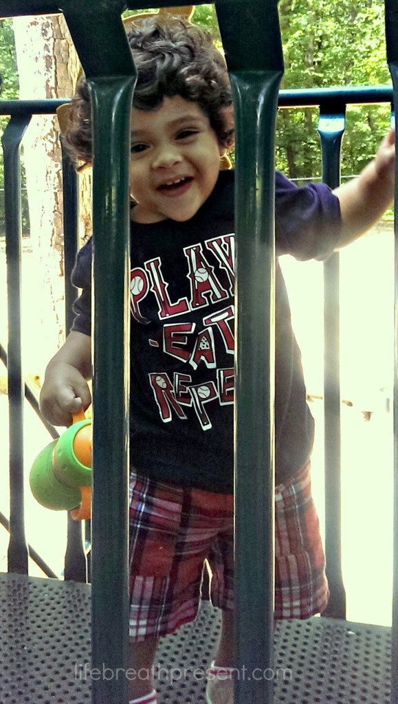playing, park, fun, happy, baby, 17 months, growing, growing up