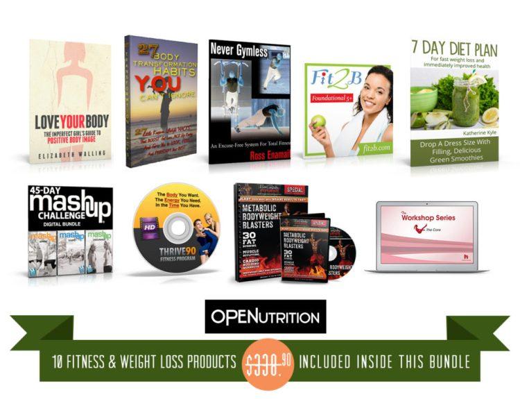 ultimate healthy living, 2015, bookshelf, fitness, weight loss, health, wellness