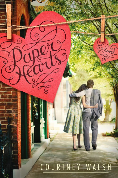 paper hearts, courtney walsh, books, book review, tyndale blog network, valentines, love,