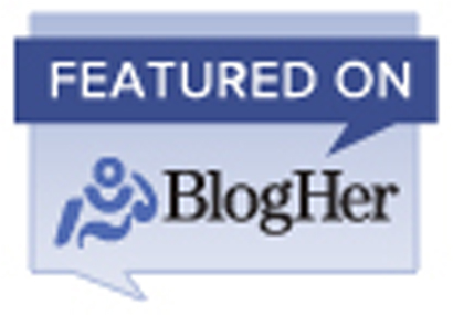 BlogHer, featured post, blogging, badge