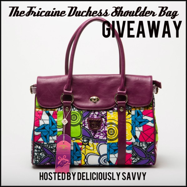 fricaine, giveaway, blogger opportunity, deliciously savvy