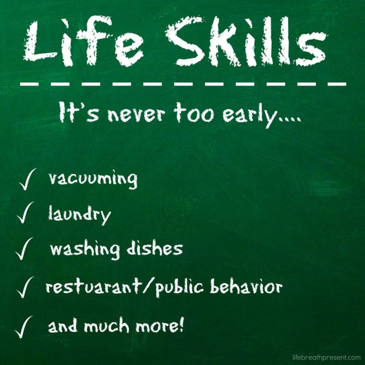 life skills, toddler, series, challenge, vacuuming, learning, homeschooling, logo