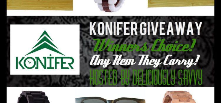 Blogger Opp ~ Konifer Watch / Sunglasses Giveaway