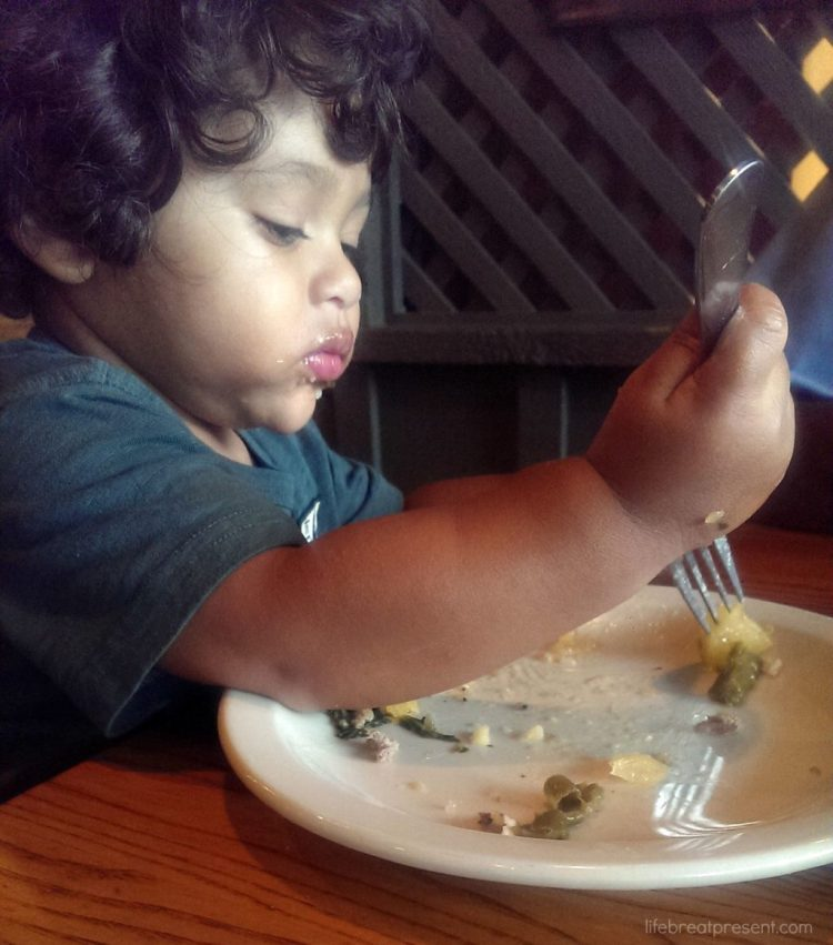 family, toddler, eating, food, fun, restaurant, life skills