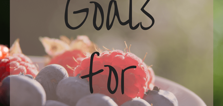 Goals for June 2016