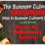 The Summer Culinary Giveaway!