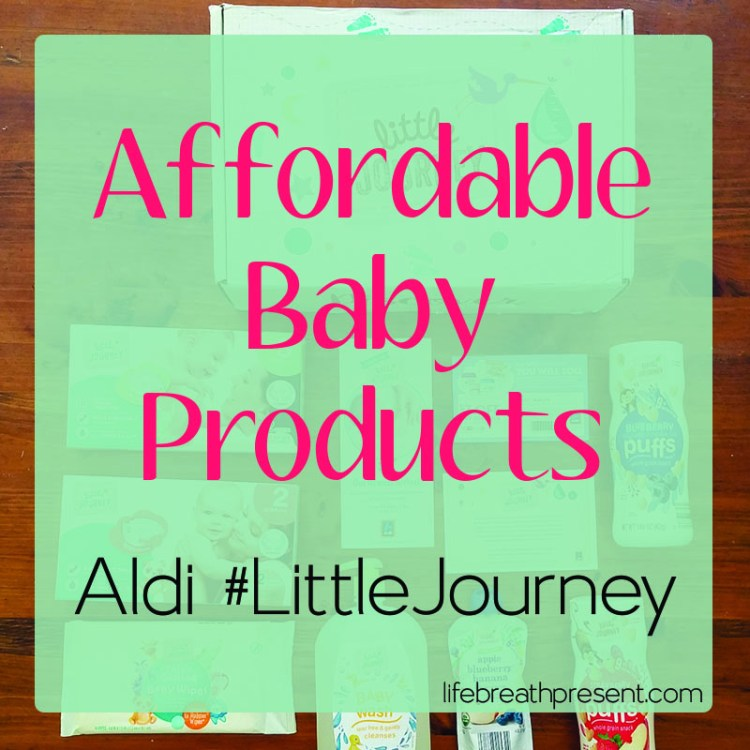 influenster, aldi, voxbox, baby, products, littlejourney, baby prodcuts