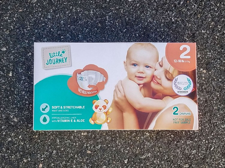 influenster, aldi, voxbox, baby, products, littlejourney, diapers, baby products